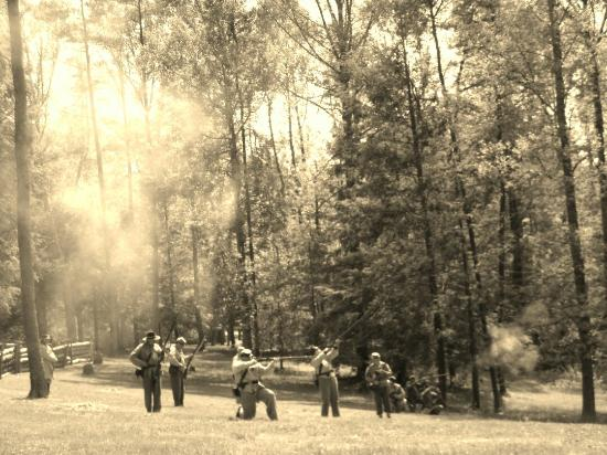 Carnifex Ferry Battlefield State Park: Reenactment