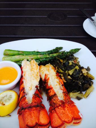 Edgewater Bar & Grille: Lobster Tail Dinner