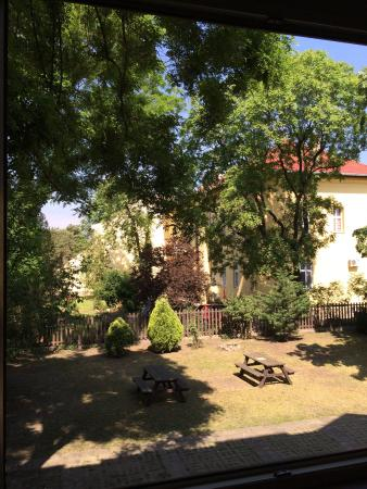 Hotel Gloria: View from our room, May 17th 2015.
