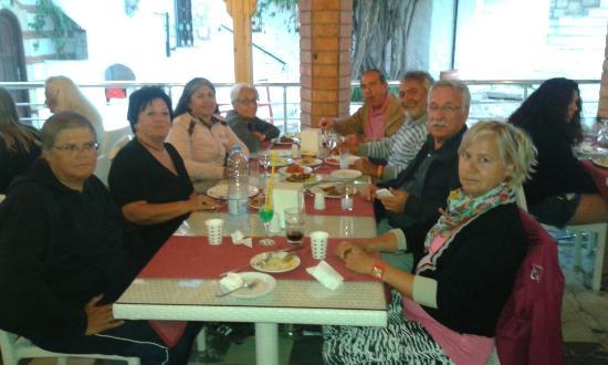 Datca, Türkei: Harika  deniz otel ve günbatımında perili kokteyli yudumlamak