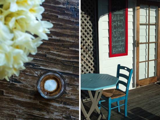 Beach House Cafe: coffee & exterior