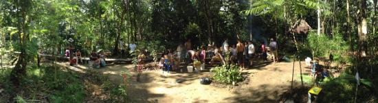 Omshanty BBQ area & Canopying (trips u0026 activities) - Picture of Omshanty Leticia ...