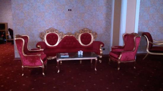 Lady Diana Hotel: area recepcion