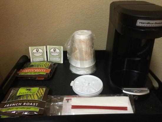 Holiday Inn Hotel-Houston Westchase: Coffee Amenities