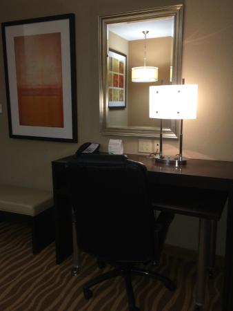 Holiday Inn Hotel-Houston Westchase: Computer Desk Area