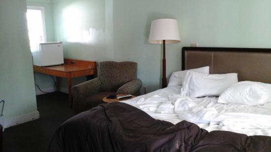 Jonathan Edwards Motel: chambre