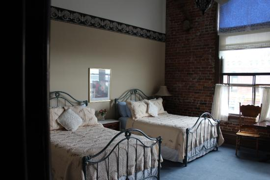Palace Hotel Port Townsend: Miss Ruby room