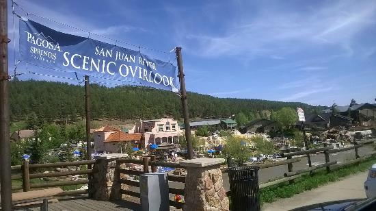 River Pointe Coffee House : Near the San Juan River Scenic Overlook.