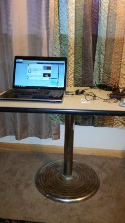 Minden, IA: Beautiful Steel table in my room