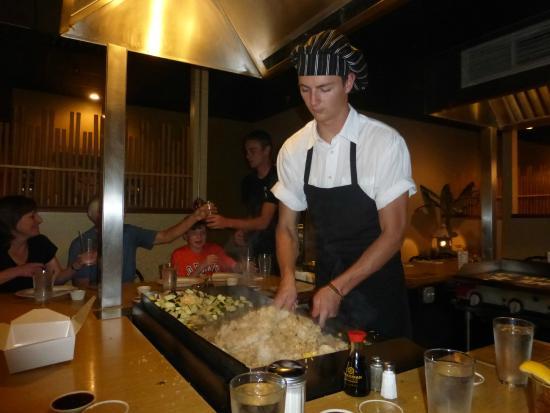 Shoji's Medford: The chef we had