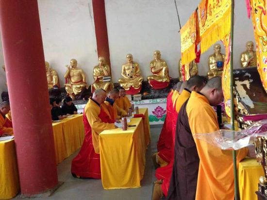 Jiangji Temple: 法會
