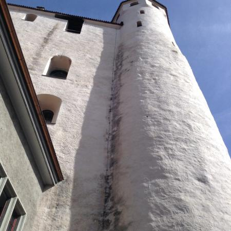Schloss THUN: The tower.