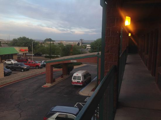 Ramada Albuquerque Airport : the view from the balcony
