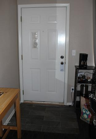 Leavenworth Village Inn : The large space under the door was a surprise.  Need weatherstripping