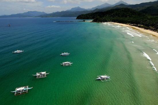 Sheridan Beach Resort And Spa Aerial View Of Sabang
