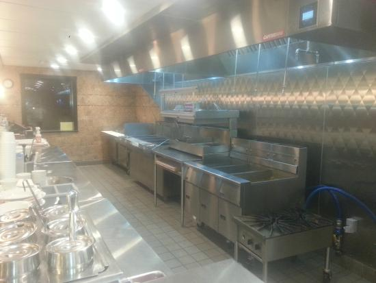 C-Lovers Fish & Chips: RENOVATED KITCHEN