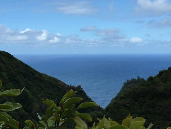 Makawao, Havai: View from the last leg of our hike
