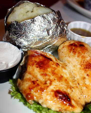 The Tumwater Inn Restaurant: Honey mustard glazed chicken