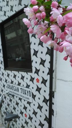 Khaosan Tokyo Ninja : hotel tampak depan