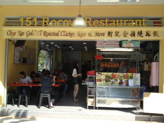 Chye Kee Goldhill Chicken Rice & more: Stall front
