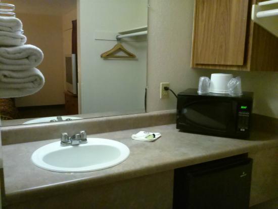 Premier Inn: Sink
