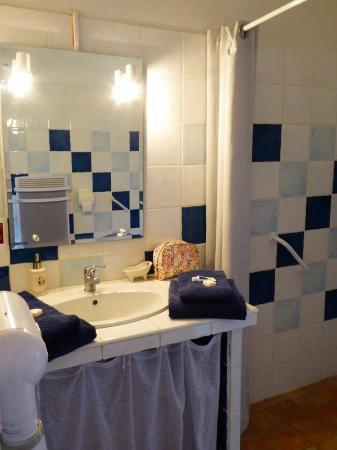 Mas Des Marguerite : Bathroom