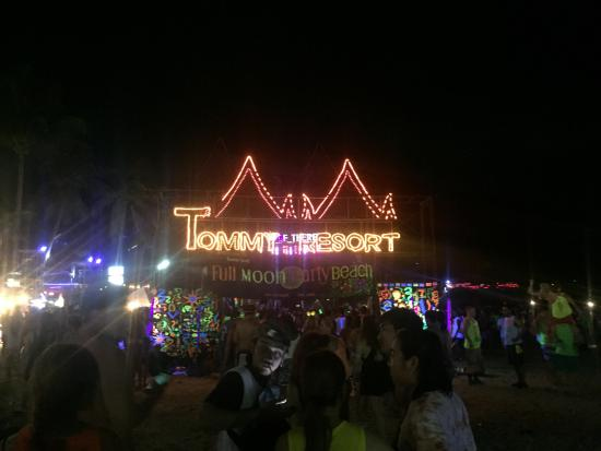 Full Moon Party Photo