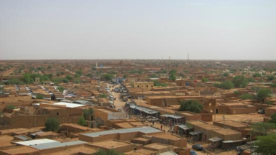 Agadez, Niger: View from the top
