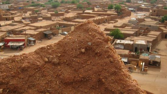 Agadez Grande Mosquee : View from the top