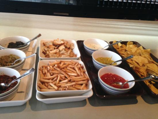 Banks Hotel: Tapas with drinks