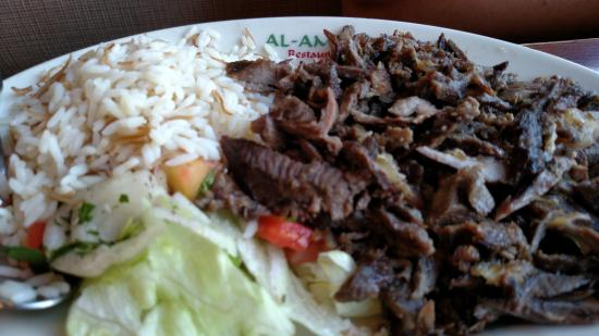 Lamb And Beef Shawarma Picture Of Al Ameer Arabic