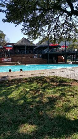 Rustenburg, Sydafrika: Swimming pool