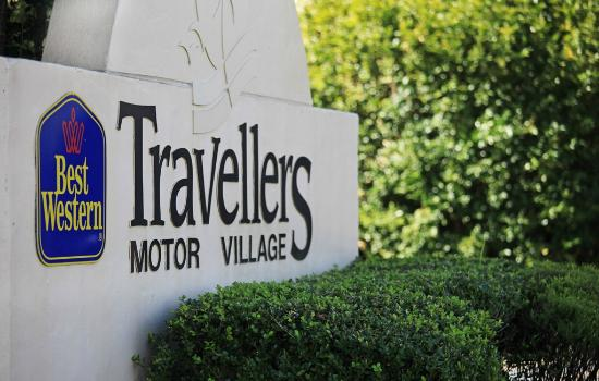 Travellers Motor Village : Entrance