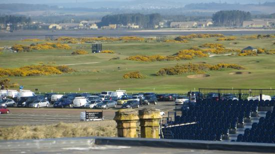 Fairways of St Andrews: Blick vom Balkon auf St.Andrews Links