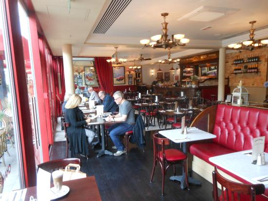 New decor picture of cafe rouge st katharine docks