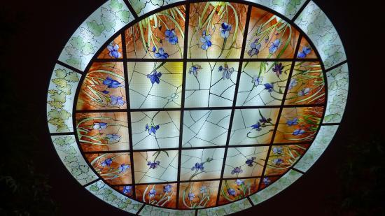 Plafonniere Blue : La rosace plafonnière du grand escalier picture of le coq dor