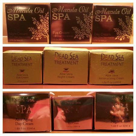 Magnolia Spa: Our unique Dead Sea Products