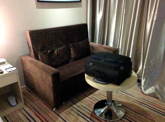 Holiday Inn Express Changzhou City Center: corner seating