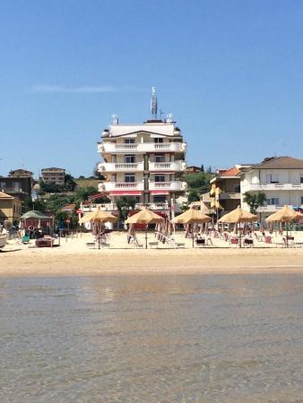 Hotel Guerra : SPIAGGIA - VISTA DAL MARE