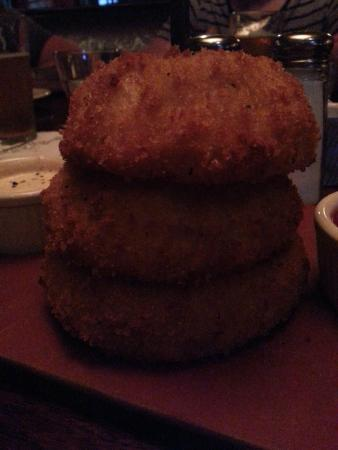Onion rings - Picture of The Ranch at Las Colinas, Irving ...