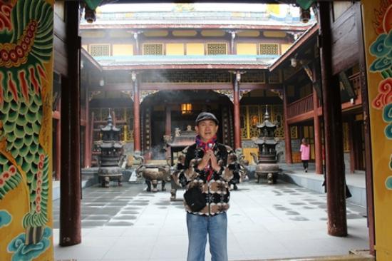Dazhou, Китай: Tampak penulis