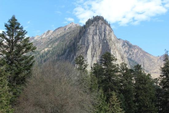 Jinyun County, Kina: Tampak gunung