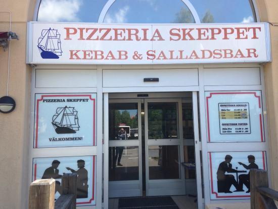 pizzeria skeppet hallstahammar meny