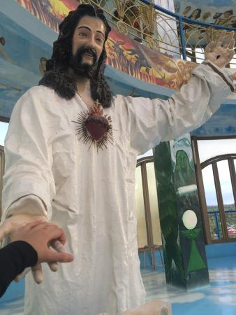 Agdangan, Philippinen: Smiling Jesus