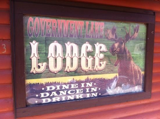 Government Lake Lodge: Dine In - Dance In - Drink In