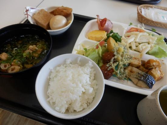 Hotel Crown Hills Nakamura : 朝食