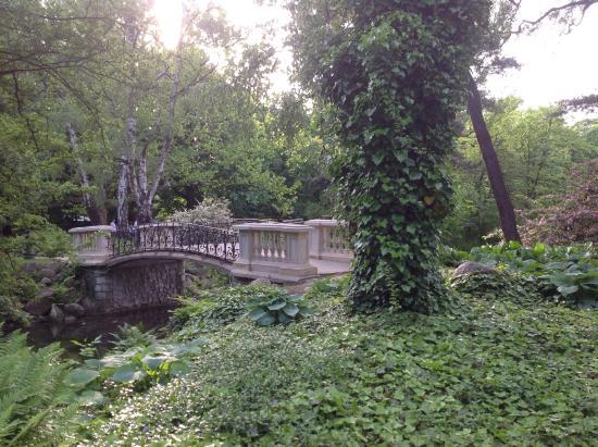 Park Ujazdowski: Мостик