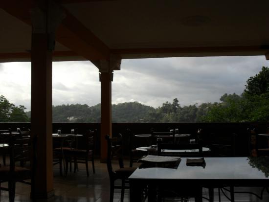 Kandy View Hotel: restuarant