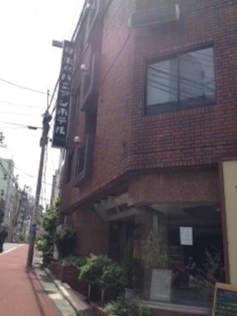 Tokyo Banyan Hotel : 外観
