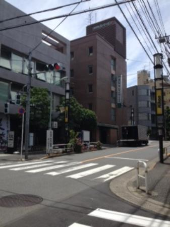Hotel Route Inn Shinagawa Oimachi : 外観